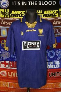 5/5 AFC Wimbledon adults XXL 1997 MINT original lotto football shirt crazy gang