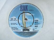 """MUD Dyna-Mite/Do It All Over Again UK 7"""" Single EX Cond"""
