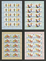 BUND BRD 2001 Kleinbogen Zehnerbogen 2165-2168**FUER DEN SPORT