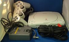 Sony PSOne White Console 1 Controller 1 AV Cable and 1 Power Adaptor Bundle