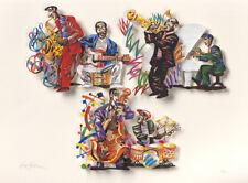 """David Gerstein """"Blue Note"""" A,B,C     3 Dimensional  """"Paper Cut""""....3 Layer"""
