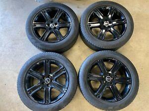 "Genuine 19"" Land Range Rover Evoque Discovery Sport Black 6 Spoke Alloys Wheels"