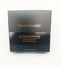 bareMinerals Invisible Bronze Powder Bronzer TAN  Full Size 7g/.24 NIB AUTHENTIC