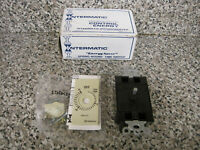 Intermatic FD15M 15 Minute Spring Wound Timer w/o Hold Fixture 120-277V Ivory