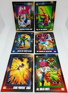 1992 SkyBox Marvel Universe Series 3 COMPLETE BASE SET - Great Condition!