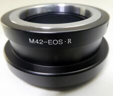 Pentax M42 Screw Lens mount adapter to Canon EOS R Full frame Mirrorless Camera