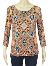 Ex M&S Ladies mix floral print tunic top  8 to 24