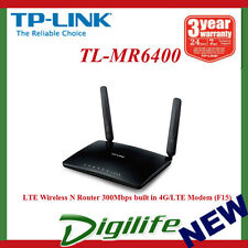 TP-Link TL-MR6400 300Mbps Wireless N 4G LTE Router SIM Card ready