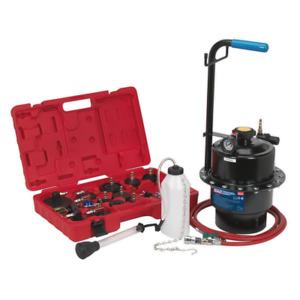 VS0204 Sealey Tools Pneumatic Pressure Bleeder Kit [Braking] Brake Bleeders