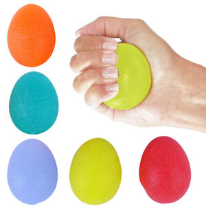 Stress Ball Hand Exercise- Egg -Relax Squeeze -Stress Relief Ball Toy UK Ship