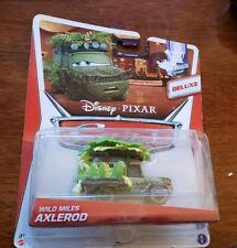 Disney Pixar Cars 2 WILD MILES AXLEROD DELUXE MEL DORADO SHOW 2014