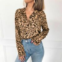 Solid Top Fashion Casual Blouse Tops Elegant Long Sleeve Floral New O Neck