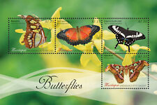 Mustique St. Vincent Grenadines BUTTERFLIES SHEETLET-new issue