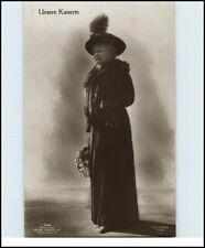 Adel & Monarchie Unsere Kaiserin im Pelzmantel Royals Real-Photo Postcard ~1910