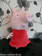 "****GIANT JUMBO LARGE TALKING PEPPA PIG PLUSH SOFT TOY****20"" TALL! GEORGE"