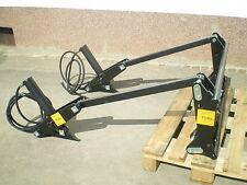 Hydraulische Gerätebetätigung mit Schnellwechselrahmen Frontlader Schlepper