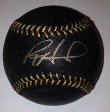 RYAN HOWARD SIGNED BLACK MLB RAWLINGS BASEBALL PHILLIES  HOWARD COA ULTRA RARE