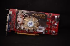MSI NVIDIA GeForce 8800 GT 512M OC NX8800GT-T2D512E-OC GRAPHICS VIDEO CARD