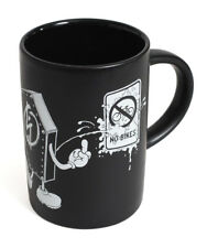 SHADOW CONSPIRACY NO BIKES COFFEE MUG CUP BMX BICYCLE LIMITED EDITION BLACK NEW