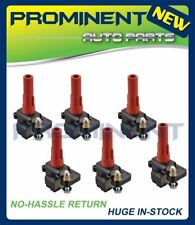 Set of 6 Ignition Coils For 2006-2009 Subaru Legacy Tribeca Outback C1326 UF287