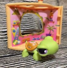 Littlest Pet Shop Display & Play Pet Nook Turtle 350 Accessory Lot LPS