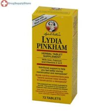 Lydia Pinkham Herbal Tablets - 72 Tablets