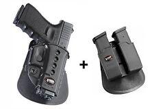 Fobus holster + doppel-magazintasche glock 19/17/22/23/31/32/34/35/41& pk-380