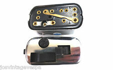 VESPA interruttore della luce 12v CROMATO (S) VESPA v50, S, L, R, Rally, VBB VNB, ecc.