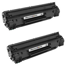 2 CB436A 36A BLACK Laser Toner Cartridge for HP Laserjet M1522n M1522nf P1505
