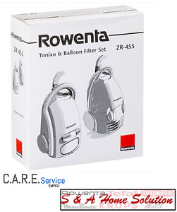 Sacchetti Rowenta Artec Spongo Tonixo e Balloon ORIGINALI ZR455 10 SAC. + 2 MIC