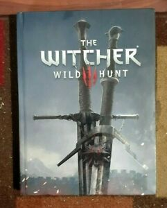 The Witcher Wild Hunt Collector's Edition Hardback Official Strategy Game Guide