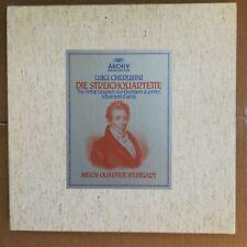 CHERUBINI MELOS QUARTETT Die Streichquartette 3LP BOX Archiv 2710 018 ITALY NM