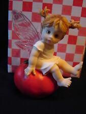 "Nib Soo Sweet! Enesco 2001 Little Kitchen Fairies #102543 "" Hot Tomato Fairie """