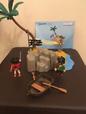 Playmobil - 4139 - Pirates Island Compact Set - 2008 Rowing Boat Hammock