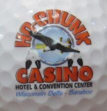 (1) Ho-Chunk Wisconsin Dells Casino Hotel Logo Golf Ball