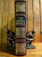 Easton Press Holy Bible 1995 W/ Illustrations From The Vatican Library First Ed.