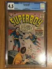 Superboy #68 CGC 4.5 - OFF-WHITE Pages - Origin and 1st Appearance of Bizarro