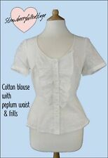 V Neck Short Sleeve Semi Fitted Other Tops for Women
