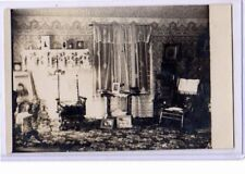 Real Photo Postcard RPPC - Parlor with Photos A L Zimmerman Photo Jeromeville OH