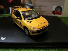 PEUGEOT 206 jaune LA POSTE au 1/43 NOREV 472607 voiture miniature