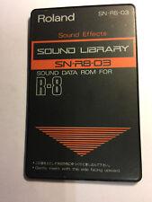 Roland Sound Card SN-R8-03 Sound Effects