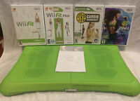 Wii Workout Bundle - Nintendo Wii Fit Plus with Balance Board, Cover And 4 Games