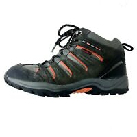 KHOMBU Men's Tyler Boot Black Suede Leather All Terrain Hiking Boots SIZE 10M