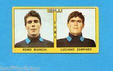 PANINI CALCIATORI 1969/70-Figurina- BIANCHI+ZAMPARO - COMO -Recuperata