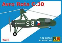 Rs models 1/72 Kit de Modelismo 92234 Avro Rota C.30
