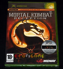 MORTAL KOMBAT DECEPTION XBOX (patch X360) Versione Italiana ○○○○ NUOVO SIGILLATO