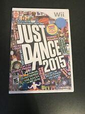 Just Dance 2015 (Nintendo Wii, 2014) Brand New, Sealed