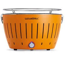LotusGrill rauchfreier Holzkohlegrill Mandarinenorange G-OR-34
