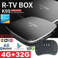R-TV K99 Hexa Core RK3399 4G 32G Android 6.0 TV BOX + i8 USB Touchpad Keyboard
