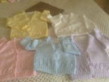babies hand knitted cardigans 9.00 Each